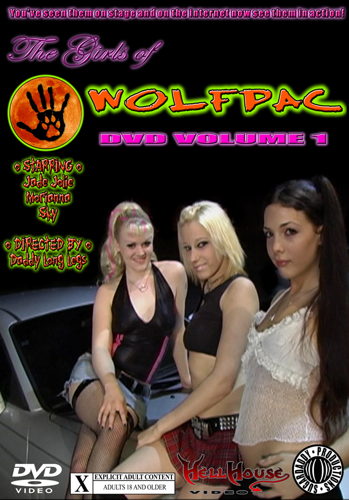 THE GIRLS OF WOLFPAC DVD VOLUME 1